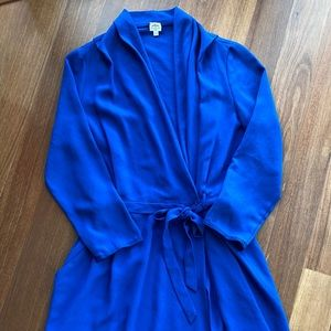 ARITZIA WILFRED SILK WRAP DRESS